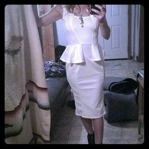 Dresses & Skirts - Classy & Sexy Peplum Dress