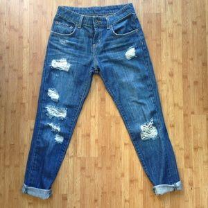 LF Carmar Mid High Rise Boyfriend Jeans 23 24