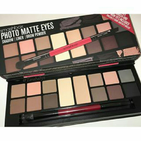 Sephora Makeup Smashbox Photo Matte Eyes Palette Brush Set Poshmark
