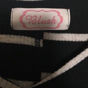 Blush Tops - Cold Shoulder Top