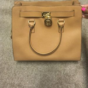 Large brown Authentic Michael Kors purse