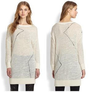 10 Crosby Derek Lam Sweaters - 10 Crosby Derek Lam Long Cream Sweater