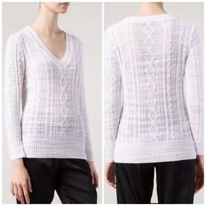 rag & bone Sweaters - Rag & Bone Knitted V Neck Sweater