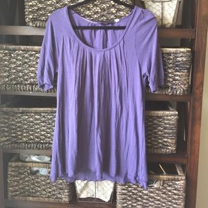 Lux Tops - Purple tunic top