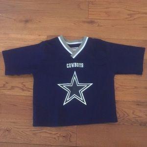 wholesale dealer 84fec 180b6 2T kids NFL touchdown club Dallas Cowboys jersey