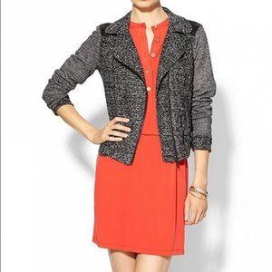 Isabel Lu Jackets & Blazers - ISABEL LU Knit Moto Jacket