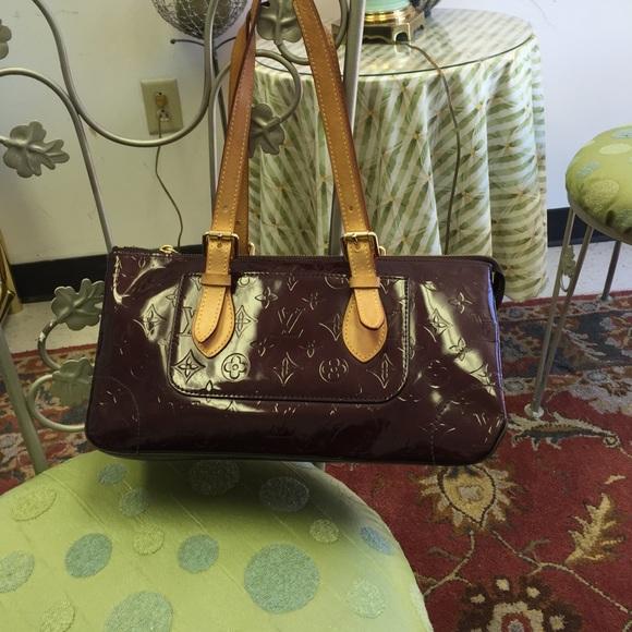 c5b3e814576a Louis Vuitton Handbags - Louis Vuitton Amarante Vernis Rosewood Bag