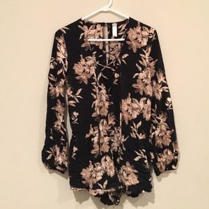Other - Floral romper from Hawaii