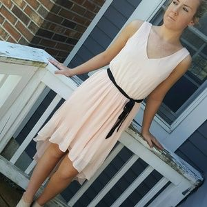 Lily Rose Dresses & Skirts - Soft pink high low