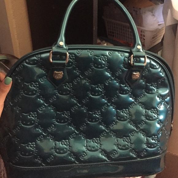 Hello Kitty Handbags - Teal duffle bag 22f966839363d