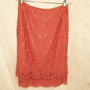 Katia Dresses & Skirts - Amazing orange lace skirt. FLASH SALE💃🏻💃🏻💃🏻