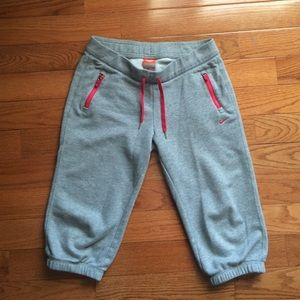 Nike Pants - NIKE sweatpants with red details size M