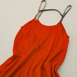 Dresses & Skirts - RED OPEN BACK DRESS