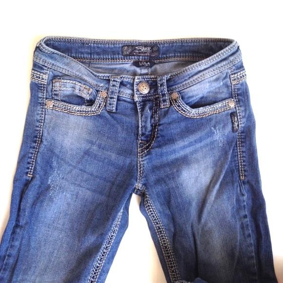 74% off Silver Jeans Denim - Silver Jeans Lola Bootcut, Sz 26/33 ...