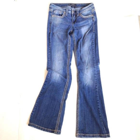 64% off Silver Jeans Denim - Silver Jeans Lola Bootcut, Sz 26/33 ...