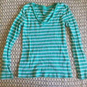 Old navy long sleeve striped tee - bundle only