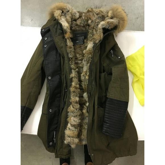 cf5e54fb6d05e BCBGMaxAzria Jackets & Coats | Bcbg Real Fur Parka | Poshmark