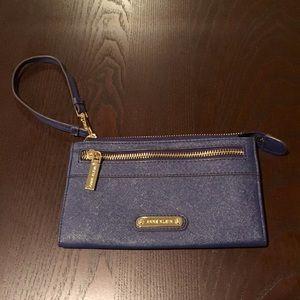 anne klein tan purse