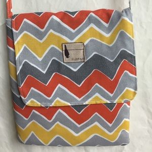 Flipped Bird reversible tablet case purse NWOT