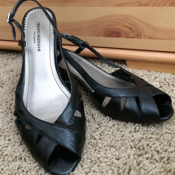 80fc2cc16500 Isaac Mizrahi Shoes - Isaac Mizrahi for Target kitten heel wedge sandal