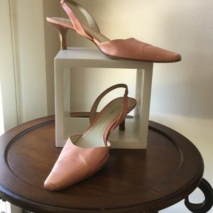 Ann Taylor Shoes - Just In🎀Ann Taylor Lizard Sling-back Shoes