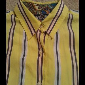 Robert Graham women's shirt, size 10. Like new.