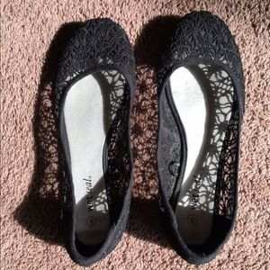 Wet Seal Lace Flats