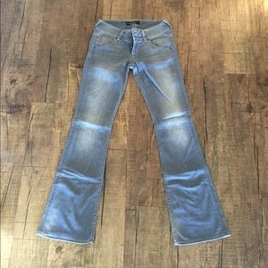 Hudson gray flared jeans additional pics