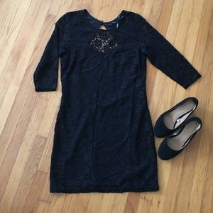 Ali & Kris Dresses & Skirts - Lace open back bodycon dress