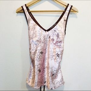 Tops - Silky light pink top/camisole