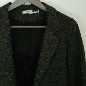 Necessary Objects Jackets & Blazers - Brown Tweed Blazer