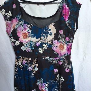 Pink Clove Dresses & Skirts - Pink Clove Floral Skater Dress
