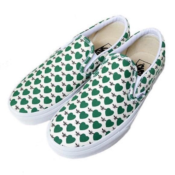 vans heart shoes