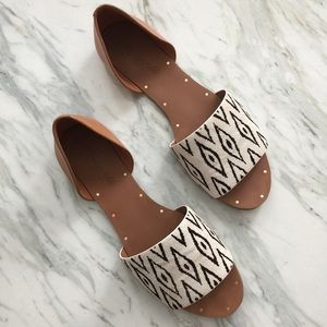 Madewell Shoes - madewell thea sandal in diamond ikat - size 8