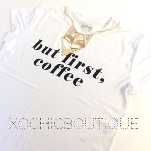 But first, coffee tee [PLUS]