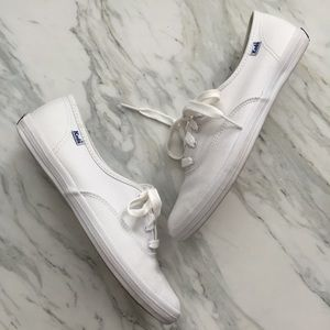 keds Shoes - keds white champion canvas sneakers - size 7