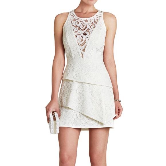 071ae7e3cce BCBG  Hannah  Sleeveless Asymmetrical-Hem Dress