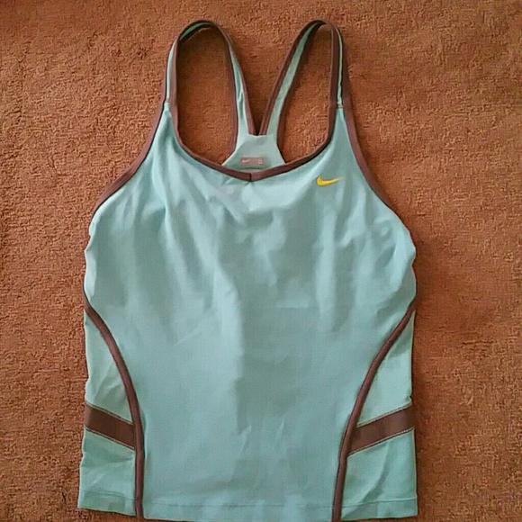 Nike Tiffany Blue YOGA RUNNING TANK