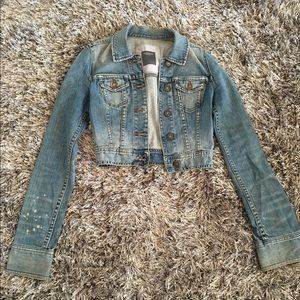 Abercrombie & Fitch Denim Jacket Size S