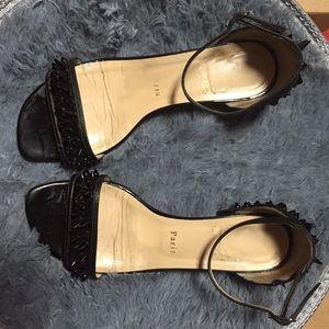 christian louboutin druide flat sandals