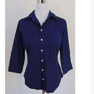 ❤️Preloved J.crew blue shirt size M❤️