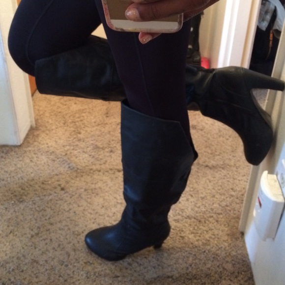 43 torrid shoes black size 12w heel boots from