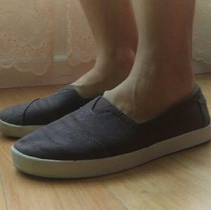 6ae83030fe5 TOMS Shoes - TOMS women s Avalon brown slip-ons