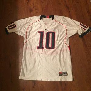 U of A football jersey white
