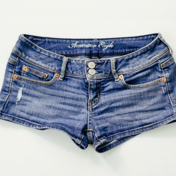 american eagle outfitters american eagle jean shorts