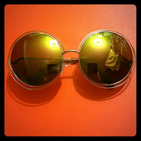 fc7623ed4bc3 Accessories - Oversized Round Sunglasses