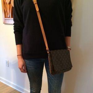 9b51ed9ca3a7 Louis Vuitton Bags - Louis Vuitton Monogram Musette Tango w  long strap