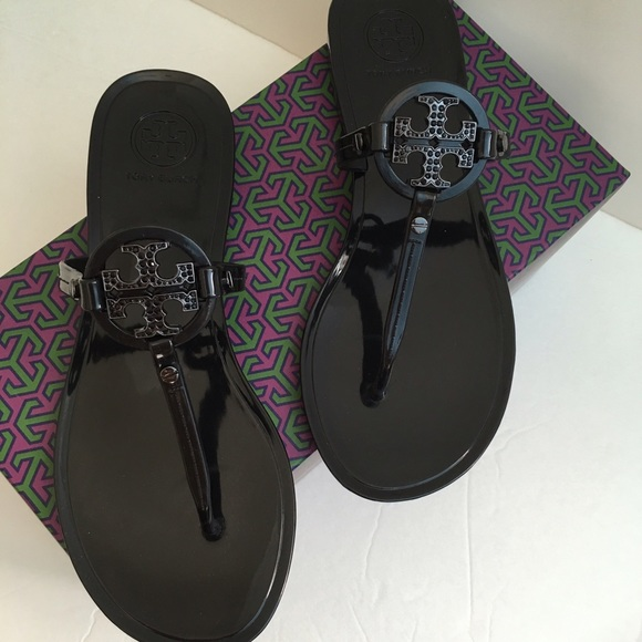 bf077462f Tory Burch Mini Miller Jelly crystals Thong