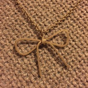 Forever 21 Jewelry - Forever 21 bow necklace