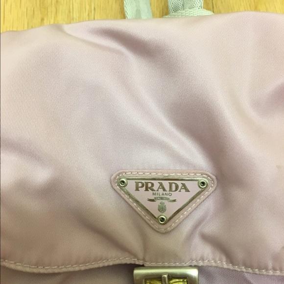 prada shoulder purse - 67% off Prada Handbags - Authentic Prada Backpack 90's era ...